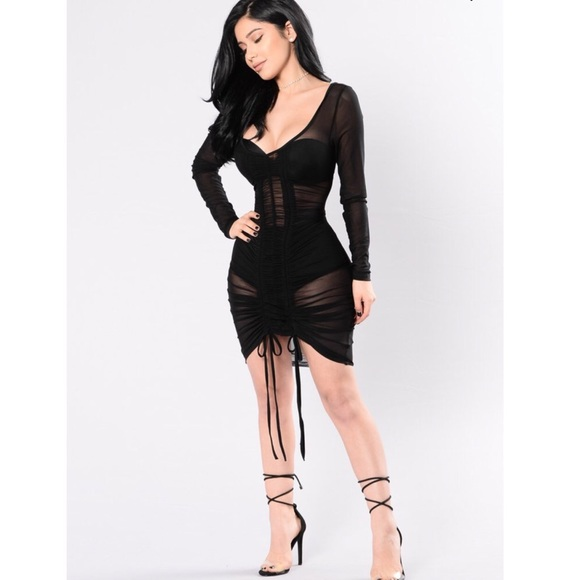6b45e071f5a Fashion Nova Dresses   Skirts - Fashion Nova Video Girl Dress